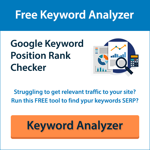 Free Keyword Analyzer
