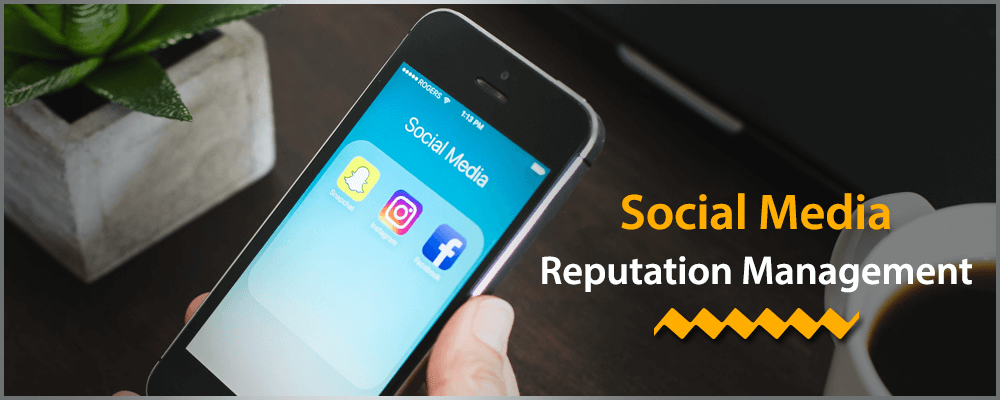 Social media reputation management