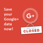 Save your Google+ data